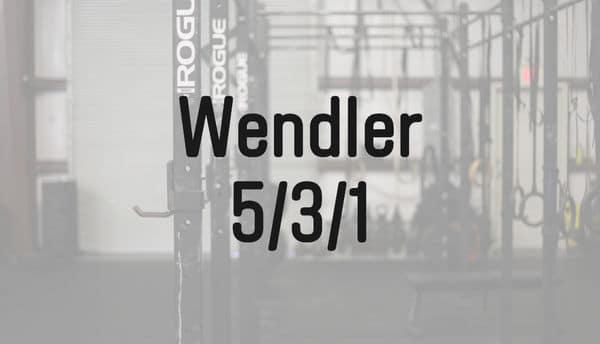 ウェンドラー531プログラム
