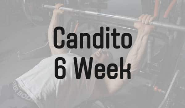 Candio 6週間 筋力プログラム