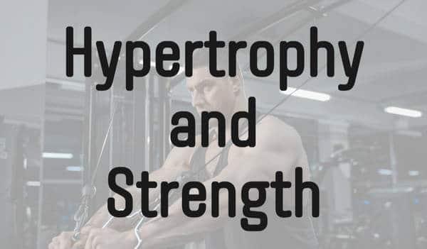 筋力と筋肥大トレーニングの違い
