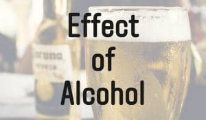 アルコールの筋肉成長への影響